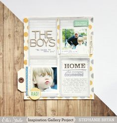 stephanie makes: elle's studio: the boys