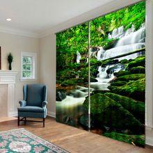 Cachoeira Maravilhosa estereoscópico 3D Efeitos de Bloqueio 2 Peças Moderna…
