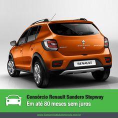 Com presença confirmada no Salão do Automóvel, o aventureiro Renault Sandero Stepway está prestes a chegar ao mercado. Acesse a matéria e conheça o novo modelo: https://www.consorciodeautomoveis.com.br/noticias/novo-renault-sandero-stepway-em-ate-80-meses-sem-juros?idcampanha=206&utm_source=Pinterest&utm_medium=Perfil&utm_campaign=redessociais