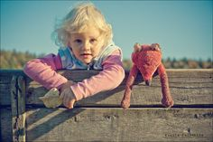 девочка и лисенок by Ksusha_Slash  on 500px