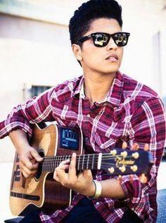 I love Bruno Mars.