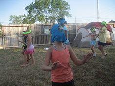 Little Orange Monkeys: Survivor Birthday Party for Paige Survivor Theme, Survivor Games, Survivor Party, Day Camp Activities, Activity Days, Kho Lanta, Survivor Challenges, Survival Day, Orange Monkey