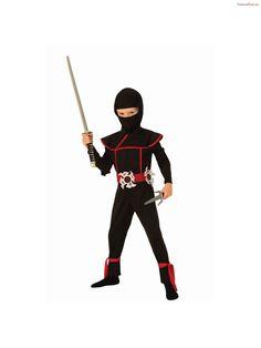 Double Bladed Staff Ninja Fancy Dress Up Halloween Toy Costume Accessory