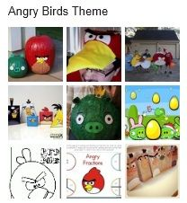 A round up of cute (and some educational) Angry Birds ideas