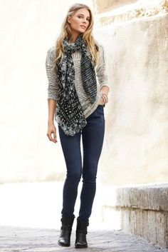Buy Textured Stripe Scarf Layer Top from the Next UK online shop