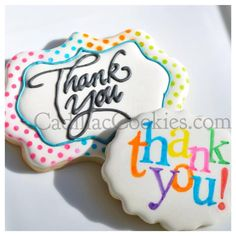 Thank You Cookies, Fancy Cookies, Iced Cookies, Custom Cookies, Cake Cookies, Sugar Cookies, Cake Decorating Supplies, Cookie Decorating, Wedding Cookies
