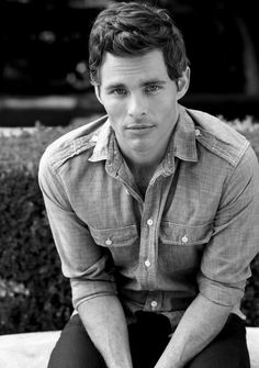 Of all the male actors out there, James Marsden is the hottest in my book. *swoon*