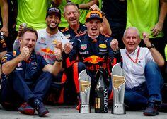 Max Verstappen Sepang Maleisië 01-10-2017.
