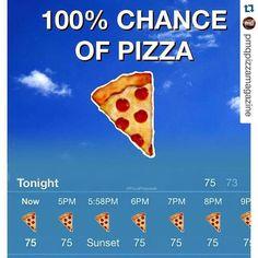 Our type of weather forecast with Happy … Unsere Art der Wettervorhersage mit Glücklicher nationaler Pizza-Party-Tag Amerika! Pizza Meme, Funny Pizza, Pizza Quotes, Food Quotes, Pizza Kunst, Pizza Art, Pizza Pizza, Pizza Lover, Pizza Branding