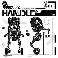 BOSTON DYNAMICS x AOKU: HANDLE® ROBOT