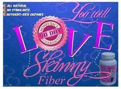 50 Reasons why you might want to try SKINNY FIBER! ✿ Get your Skinny fiber, 100% natural: http://Korfits.SBCSpecial.com  Glucomannan (tuber) Powder -It reduces the digestion and the absorption of fats and sugars. -As a weight –loss supplement it helps lose weight. -It improves intestinal function and health. -It takes up space in the stomach, which then simulates the sensation of being full. -It has no known adverse effects on human health.  Caralluma fimbriata (whole plant) Powder -Is..