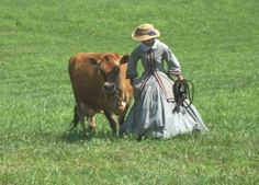 """I suppose this is what it would have been like down on the farm back in the """"Olden"""" days."""
