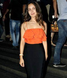 Pooja Bose at screening of 'Great Grand Masti'. #Bollywood #Fashion #Style #Beauty #Hot #Sexy