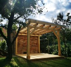 Prístrešok Pergola, Outdoor Structures, Outdoor Pergola, Arbors, Pergolas