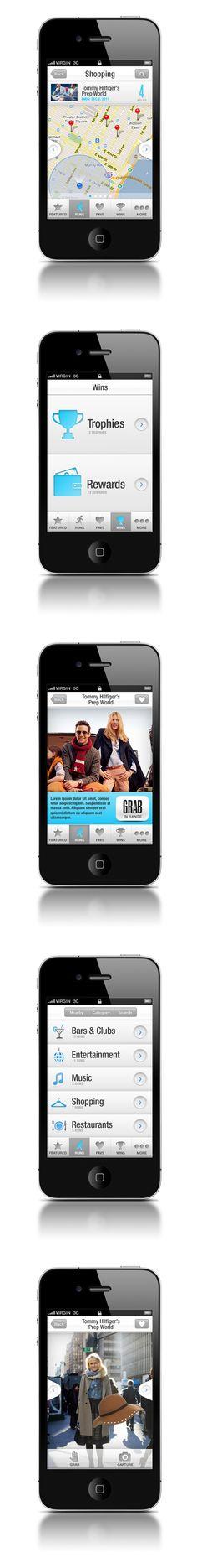 Goldrun V2 on Behance #mobile #ui #ux #design #inspiration #navigation #app #interface #ios #android #flat #smartphone #visual