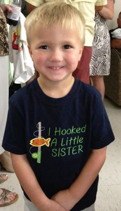 Precious Big Brother shirt  www.facebook.com/astitchabovetherest