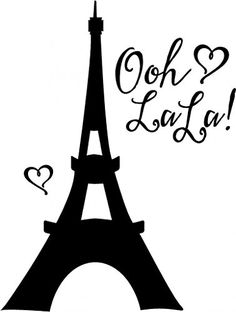 Eiffel Tower Vinyl Wall Decal