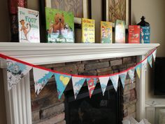 CUTEST Story Book Baby Shower- decor, food, printables and more here. :)