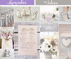 Lavender Inspired Wedding Color Ideas and Wedding Invitations |