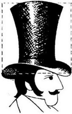 31 mejores imágenes de sombreros de copa  6383a0431e4