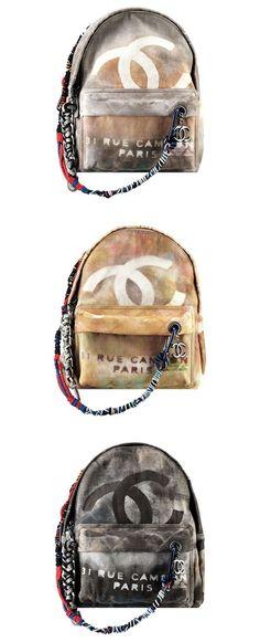 Chanel Backback Collection & more details