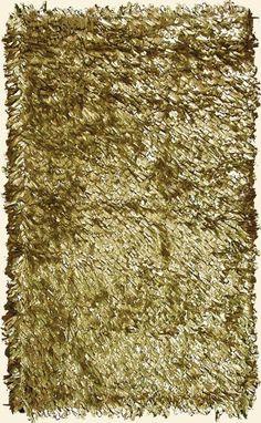 Metallic rug.