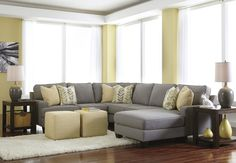 Zoey Sectional – Furniture Discounters