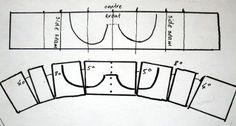 How to draft, then test and sew - your own bra pattern