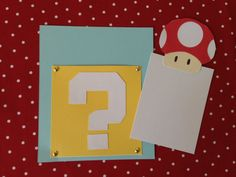 25 Power-Up Super Mario Bros. Invitations by ShannaRaeH on Etsy