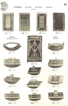 page from Erhard & Söhne's 1905 catalogue