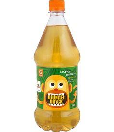 Djungeldryck Ananas/Passion.  Orange monkey.
