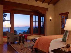 Inviting hacienda style retreat overlooking the Santa Lucia Preserve