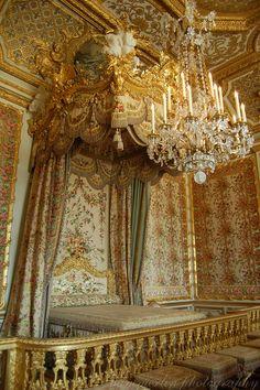 Marie Antoinette's bedroom at Versailles. Taken by me.