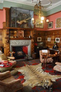 Victorian smoking room