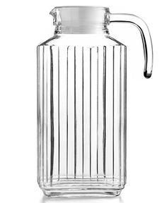 Martha Stewart Collection Glass Pitcher, 57 Oz. - Kitchen Gadgets - Kitchen - Macy's Bridal and Wedding Registry  #MarthaMacys
