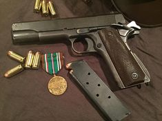 I'm still not over the Remington Rand Military Guns, Military Surplus, Military History, 1911 Pistol, Colt 1911, Cool Guns, Guns And Ammo, Firearms, Hand Guns