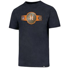 Men's '47 Brand Houston Astros Belt Tee, Multicolor