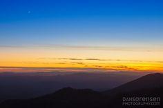 Sunset in the White Mountains of Arizona