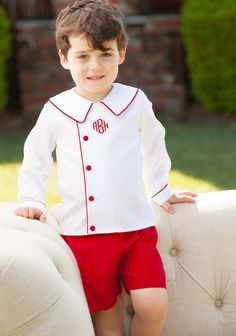 e6ec4e97 Shrimp & Grits Kids - Red Jasper Shorts Shrimp Grits, Red Jasper, Collar  Shirts