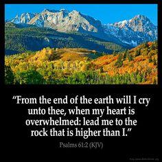 Psalm 61:2 KJB