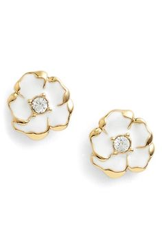 kate spade new york 'beach house bouquet' flower stud earrings available at #Nordstrom