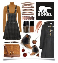 """""""The 1964 Premium Wedge from SOREL: Contest Entry"""" by ittie-kittie on Polyvore featuring Yumi, SOREL, A.L.C., H&M, Emi Jewellery, Kenneth Jay Lane, Urban Decay, Melissa Joy Manning, Hourglass Cosmetics and Illamasqua"""