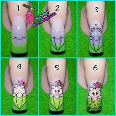 Cool Nail Art, Nail Manicure, Love Nails, Nail Designs, Tattoos, Disney Nails, Creative Nails, Butterfly Nail Art, Nail Techniques
