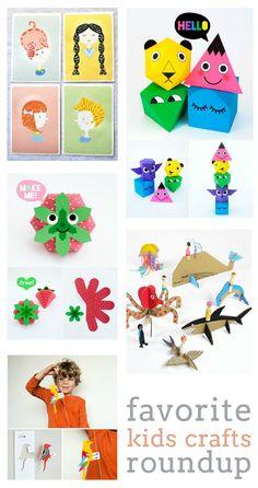 super adorable free printables for kids so cute for summer playtime diy - Printable Preschool Crafts