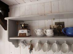 Vintage küchenregal ~ Küchenregal im landhausstil regale aufbewahrung pinterest im
