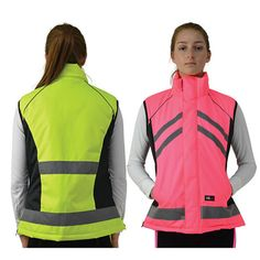 Security Vision Child Safety Set of 7 including Warning Vest Children Reflective Stickers and Arm Bands