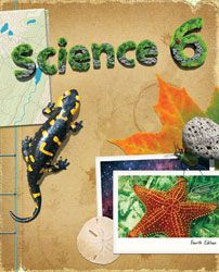 Science 6 Student Text (4th ed.) uses hands-on activities to teach sixth grade students about the changing earth, the solar system, and concepts of physics and chemistry.
