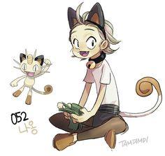 052.Meowth by tamtamdi on DeviantArt
