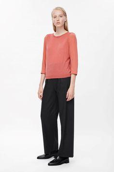 COS | Silk sleeve jumper
