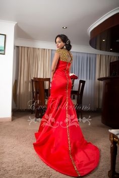 In Love With Red ~African fashion, Ankara, kitenge, African women dresses, African prints, Braids, Nigerian wedding, Ghanaian fashion, African wedding ~DKK